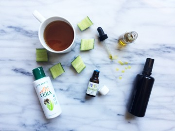 DIY Summer Beauty: After-Sun Soothing Tonic