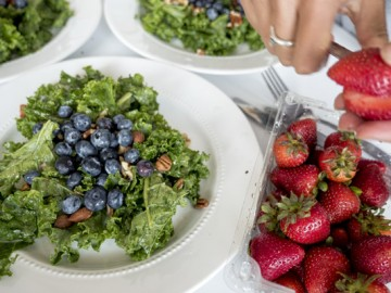 OBC Eats: Berry, Feta, Chicken Salad