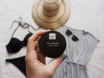 How to Use Nourish Night Balm As An After-Sun Soother